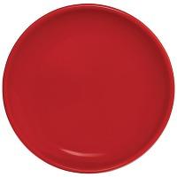Assiette plate rouge olympia café 205mm - lot...