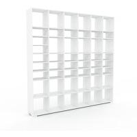 Bibliothèque - blanc, design, étagère pour...