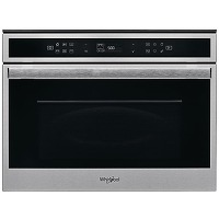 Micro-ondes combiné encastrable inox whirlpool...