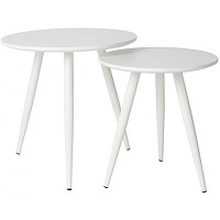 Daven - 2 tables d'appoint laquées
