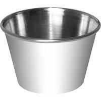 Pots à sauce en acier inoxydable olympia 70ml -...