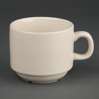 Tasse à thé empilable ivory olympia 206ml - lot...