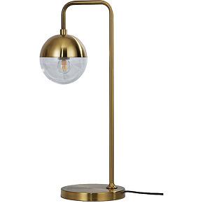 Globular - lampe à poser vintage en métal