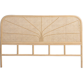 Nanasi - tête de lit en cannage de rotin 188cm