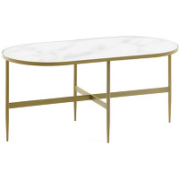 Kave home - table basse elisenda 100 x 50 cm
