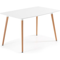 Kave home - table wad 140 x 80 cm