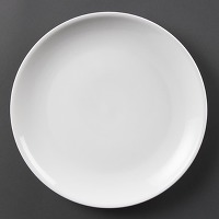 Assiettes plates rondes olympia 280mm - lot de 6