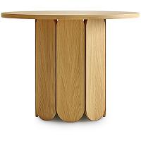 Soft - table à manger ronde en bois massif...