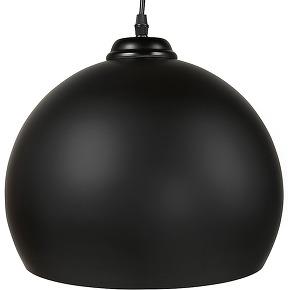 Suspension boule 'douglas' noire design