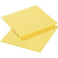 Lavettes spongyl jaunes - lot de 10