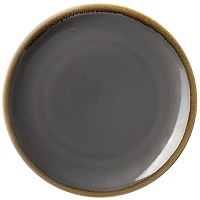 Assiettes plates rondes olympia kiln grises...