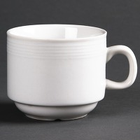 Tasse à thé empilable linear 20cl olympia - lot...