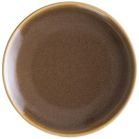 Assiettes plates rondes écorce kiln olympia...