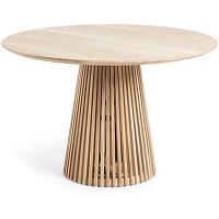 Jeanette - table à manger ronde teck ø120cm