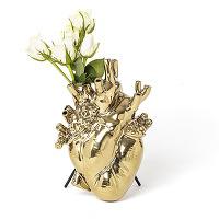 Seletti vase en forme de coeur love in bloom...