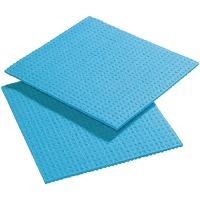 Chiffons de nettoyage spongyl bleus - lot de 10