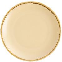 Assiette plate ronde couleur sable olympia kiln...