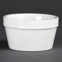 Ramequins blancs 95mm olympia - lot de 6