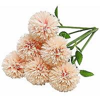 Tifuly artificielles hortensia fleurs, 6 pcs...
