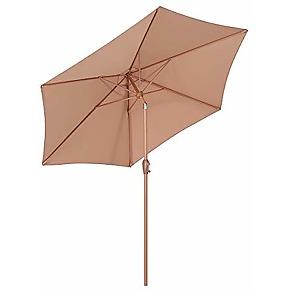 Sekey® 2.7m parasol inclinable pour patio...