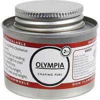 Combustible liquide olympia 2 heures - lot de 12
