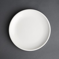 Assiettes plates olympia café blanches 250mm -...