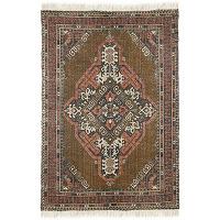 Dahmani - tapis à franges d'inspiration orientale