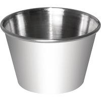 Pots à sauce inox olympia 230ml - lot de 12
