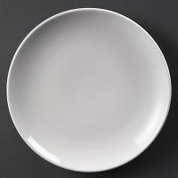 Assiettes plates rondes olympia 230mm - lot de 12