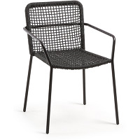 Kave home - chaise boomer noir