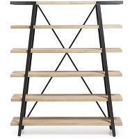 Spike - etagère design bois et métal