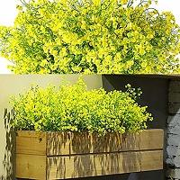 12 lots arbustes artificiels buissons fleurs...