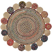 Kave home - tapis rond ginnis Ø 100 cm